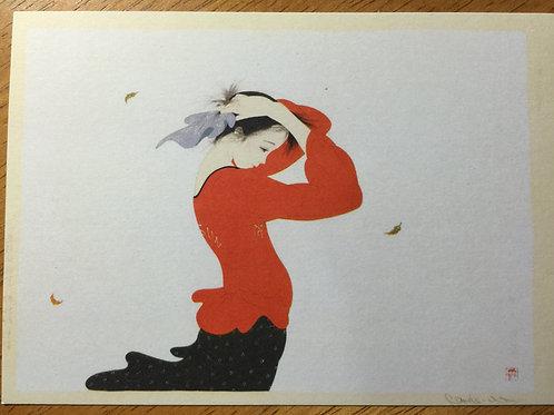Postcard 'Swaying'