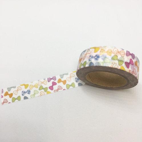 Bow Ties Washi Tape 15mm