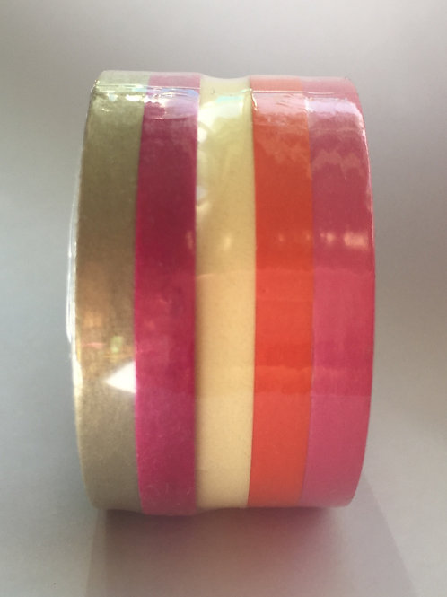 Earthy Thin Set of 5 - 5mm