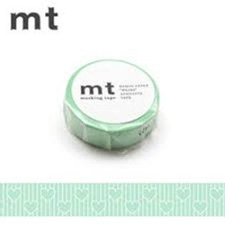 MT Masking Tape Heart Line 15mm MT01D330