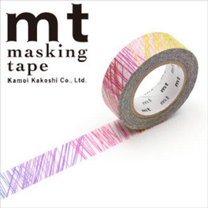 MT Masking Tape x Kapitza - Scribble MTKAPI03 15mm