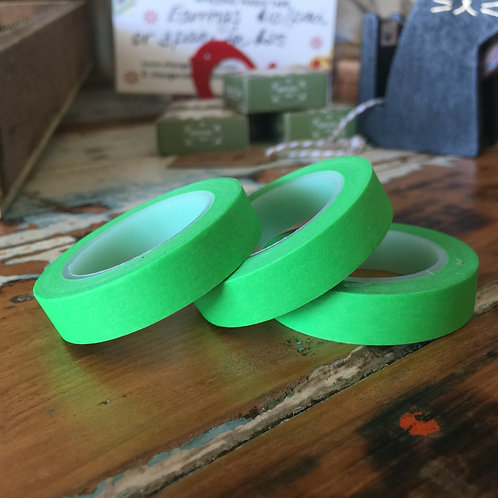 Thin Solid Colour Green 10mm