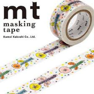 MT Masking Tape x Mina Perhonen - Flower White MTMINA23