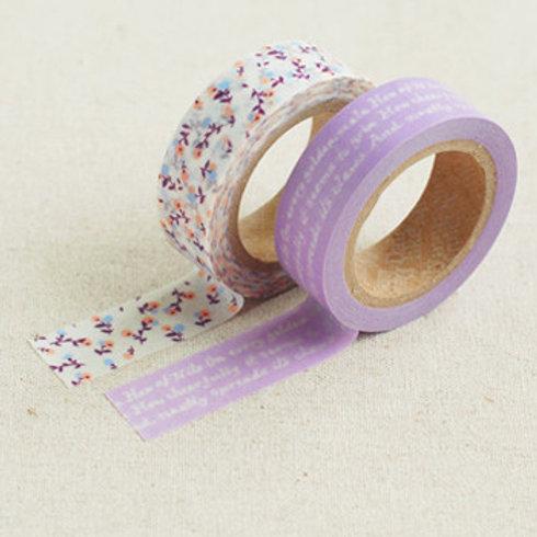 Dailylike Washi Tape - Twin Pack - Dear 15mm