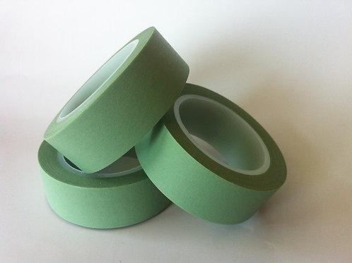 Solid Colour Sage Green 15mm