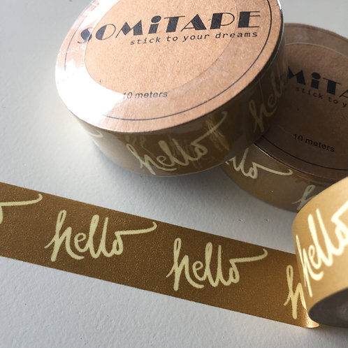 Somi Hello Metallic Gold 15mm