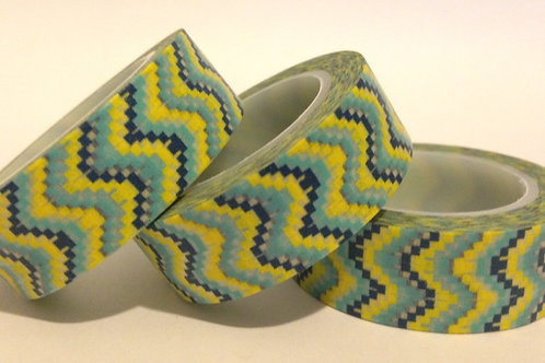 Dotted Chevron 15mm