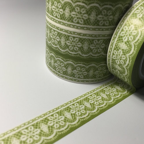 Lace on Green 15mm