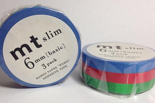 MT Slim 6mm 3 Pack Style H MTSLIM14