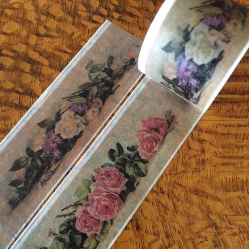 Wide Austin Roses 30mm