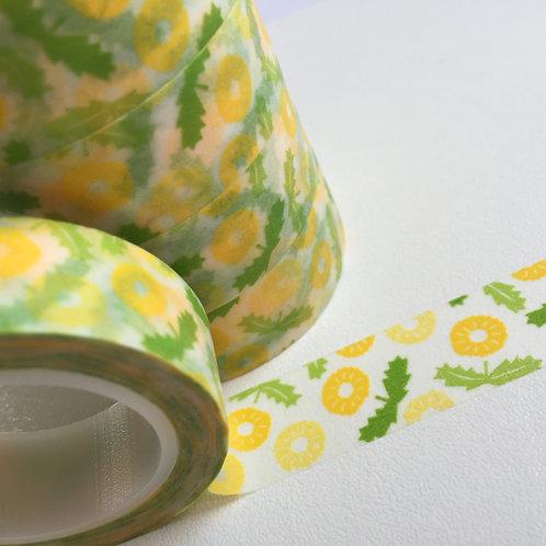 Lemon & Lime Floral 15mm