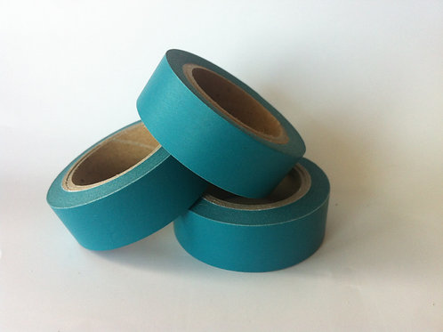 Solid Colour Teal 15mm
