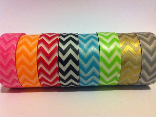 "Chevrons Bundle ""I Want the Lot"" - All or any 8 - 15mm"
