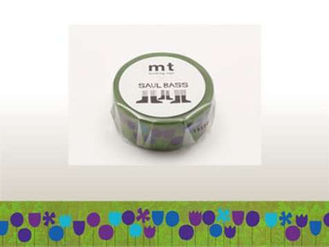 MT Masking Tape x Saul Bass - Flowers MTSAUL02 20mm