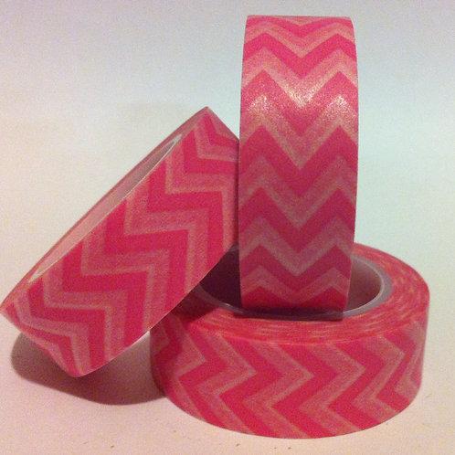 Chevrons - Pink 15mm