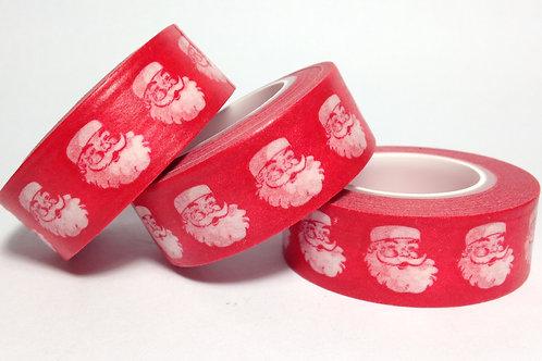 Santa on Red