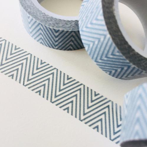Finer Grey Zigzag 15mm