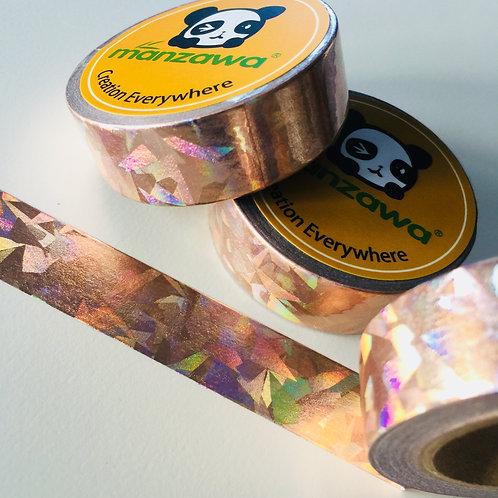 Rose Gold Foil Holographic 15mm