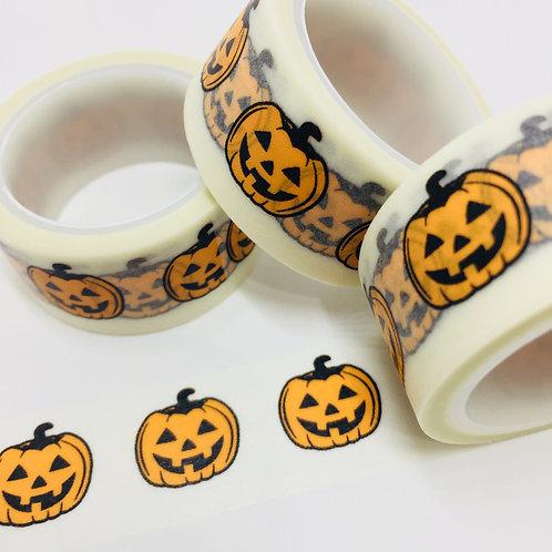 Wide Jack O Lantern Halloween 20mm
