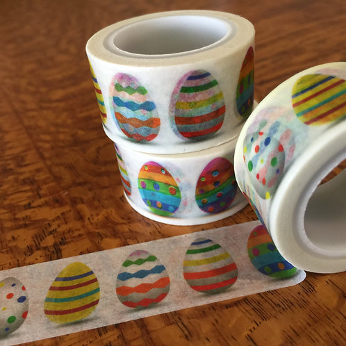 Wide Easter Eggs - Brights 20mm