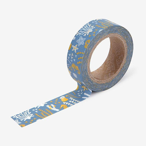 Dailylike Washi Tape - Sea Horse 15mm