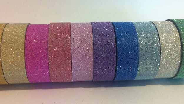 Glitter Washi is here!