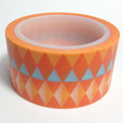 Wide Orange Tribal 20mm