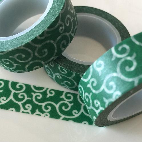 Dark Green Curly Whirly 15mm