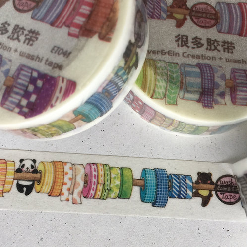 Washi Tape Washi Tape Ever&Ein Creation ET041 15mm
