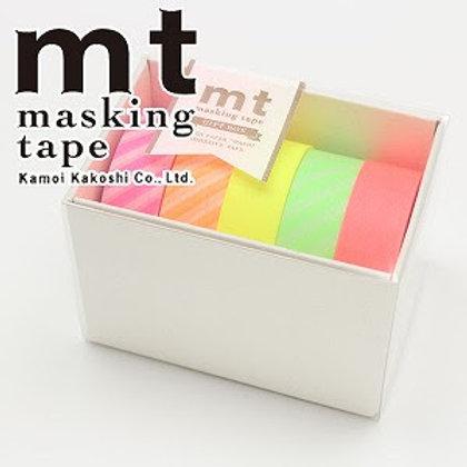 MT Masking Tape Neon 2 - 5 Piece Boxed Set MT05G006