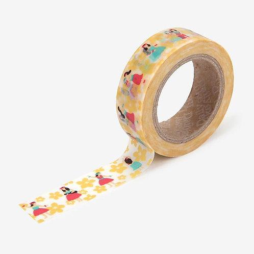Dailylike Washi Tape - Hula 15mm