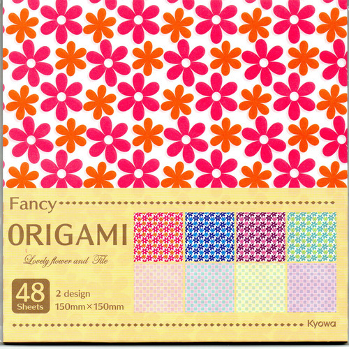Lovely Lace Tile Origami Paper 48s Single Sided