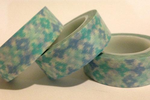 Blue Batik 15mm