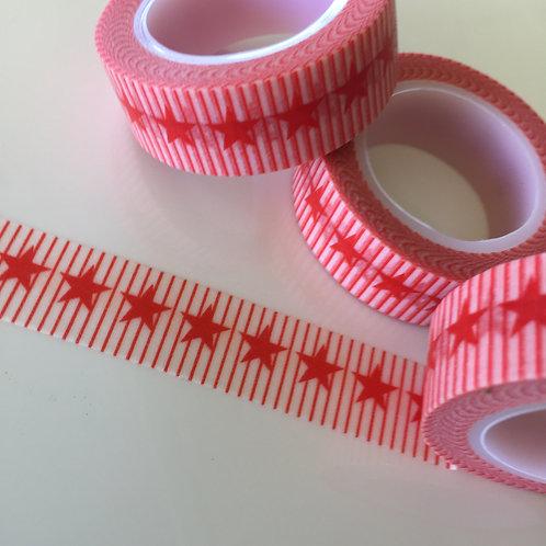 Stars & Stripes Red 15mm
