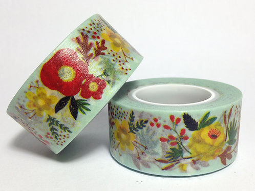 Wide Swiss Floral