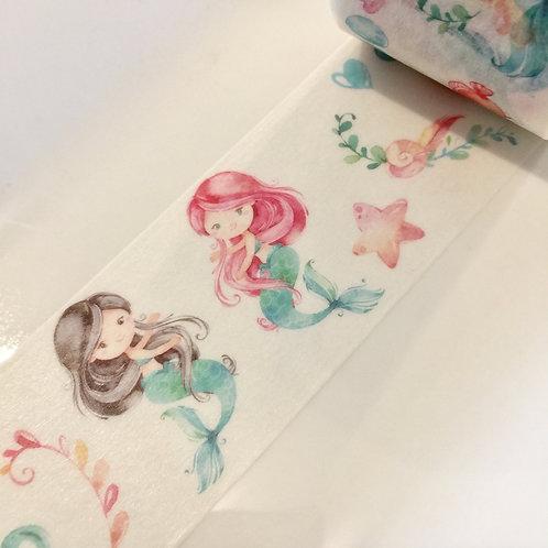 Wide Little Mermaids 30mm