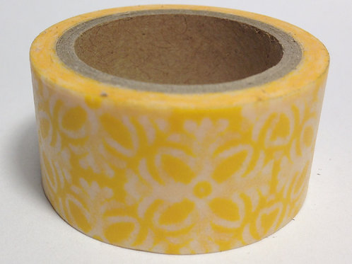 Wide Yellow Lace 20mm