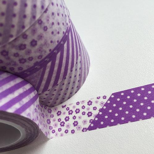 Lavender Patchwork 15mm