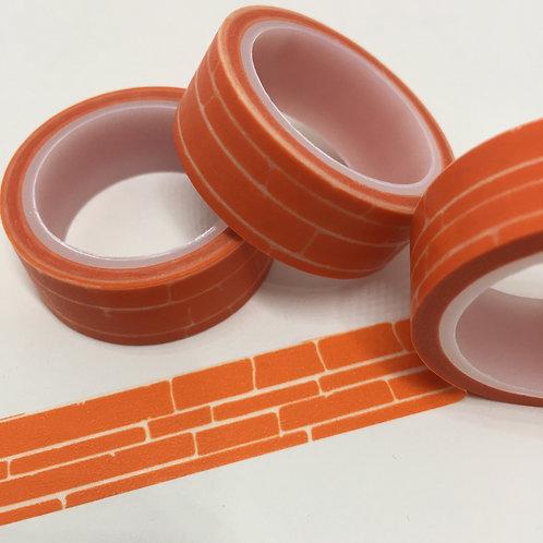Super Value Orange Stone Wall 15mm