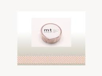 MT Masking Tape Dashed Red 15mm MT01D299