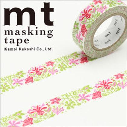 MT Masking Tape x Bengt & Lotta - Alma - Pink MTBELO07 15mm