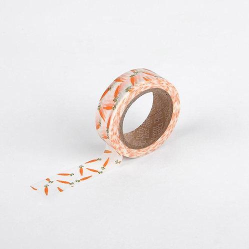 Dailylike Washi Tape - Carrot 15mm