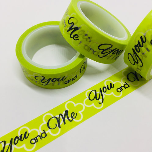 SUPER Value You and Me on Lime 15mm