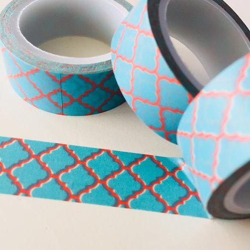 SUPER VALUE Blue & Orange Tile 15mm