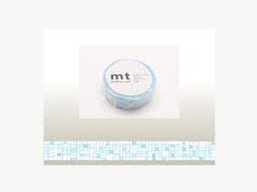 MT Masking Tape Line Pale Blue 15mm MT01D291