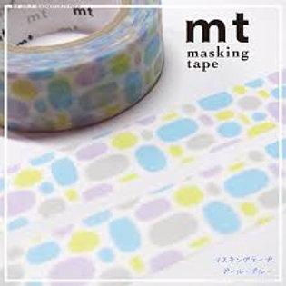 MT Masking Tape Pool Blue 15mm MT01D283