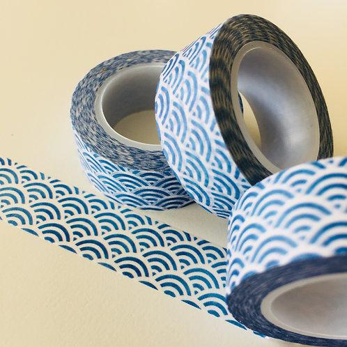 Blue Japanese Wave 15mm