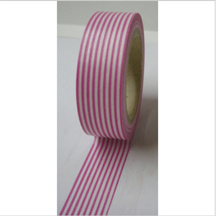 Pink Pinstripes 15mm