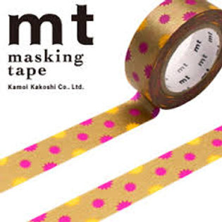 MT Masking Tape KiraKira Gold 15mm MT01D295