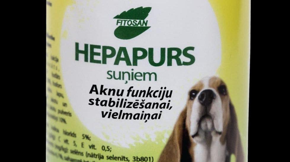 HEPAPURS suņiem aknu veselībai